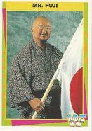 1995 WWF Wrestling Trading Cards (Merlin) Mr. Fuji 19
