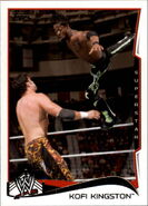 2014 WWE (Topps) Kofi Kingston 29