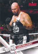 2017 WWE Wrestling Cards (Topps) Luke Gallows 23