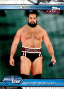 2019 WWE Road to WrestleMania Trading Cards (Topps) Rusev 57
