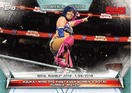 2019 WWE Women's Division (Topps) Asuka 63