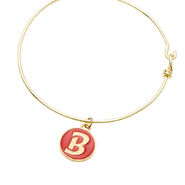 Bella Twins Red Logo Gold Wire Bracelet