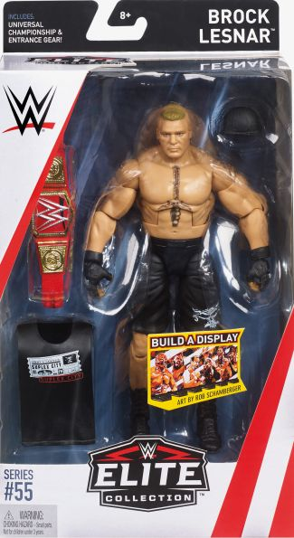 WWE Elite Collection Series # 55 Brock Lesnar Action Figure