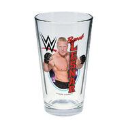 Brock Lesnar Toon Tumbler Pint Glass