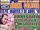 CMLL Guadalajara Martes (April 2, 2019)