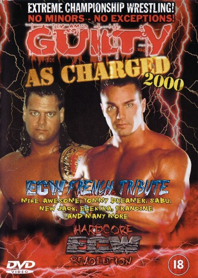 Image result for ECW gUilty as charged 2000