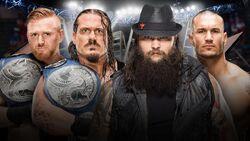 TLC 2016 Slater & Rhyno v Wyatt Family