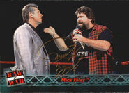2001 WWF RAW Is War (Fleer) Mick Foley 3