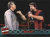 2001 WWF RAW Is War (Fleer) Mick Foley (No.3)