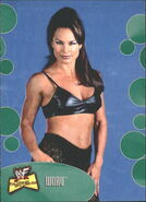 2001 WWF The Ultimate Diva Collection (Fleer) Ivory 17