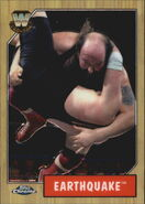 2008 WWE Heritage III Chrome Trading Cards Earthquake 86