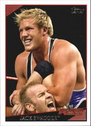 2009 WWE (Topps) Jack Swagger 29