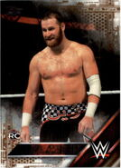 2016 WWE (Topps) Then, Now, Forever Sami Zayn 140