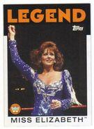 2016 WWE Heritage Wrestling Cards (Topps) Mizz Elizabeth 92