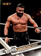 2017 WWE (Topps) Then, Now, Forever Andrade Cien Almas 166