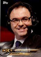 2018 WWE Wrestling Cards (Topps) Mauro Ranallo 55