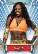 2019 WWE Women's Division (Topps) Naomi 25