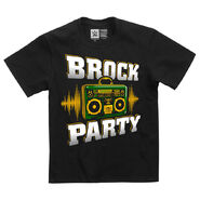 Brock Lesnar Brock Party Youth Authentic T-Shirt