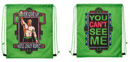 John Cena Neon Drawstring Bag