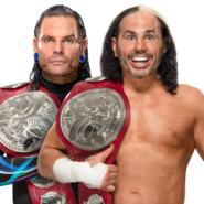 The Hardy Boyz WWE Raw Tag Team Championship 2017