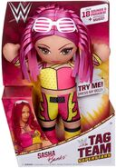 WWE Tag Team Superstars Sasha Banks Doll copy