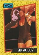 1991 WCW (Impel) Sid Vicious 26