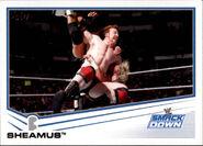 2013 WWE (Topps) Sheamus 75