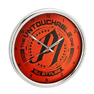 AJ Styles 12 inch Chrome Wall Clock