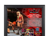 Alexa Bliss TLC 2016 15 x 17 Framed Plaque w Ring Canvas