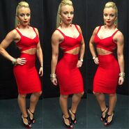 Amanda in Red