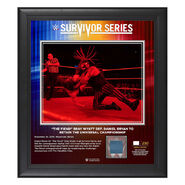 Bray Wyatt Survivor Series 2019 15x17 Limited Edition Plaque