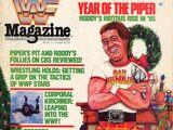 WWF Magazine - December/January 1985/86