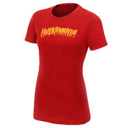 Hulk Hogan Hulkamania Red Women's T-Shirt