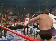 RAW 11-8-04 Snitsky punts baby