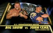 WrestleMania XX john cena vs big show