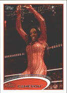 2012 WWE (Topps) Cameron 9