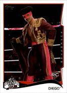 2014 WWE (Topps) Diego 17