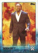 2015 WWE (Topps) Booker T 10