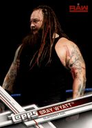 2017 WWE (Topps) Then, Now, Forever Bray Wyatt 112