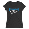 AJ STYLES & CHARLOTTE FLAIR MMC FENOMENAL FLAIR WOMEN'S TRI-BLEND T-SHIRT