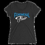AJ STYLES & CHARLOTTE FLAIR MMC FENOMENAL FLAIR WOMEN'S TRI-BLEND T-SHIRT
