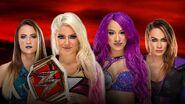 Alexa Bliss vs Sasha Banks vs Nia Jax vs Emma