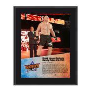 Brock Lesnar SummerSlam 2016 10 x 13 Photo Plaque