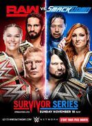 Survivor Series 2018 poster