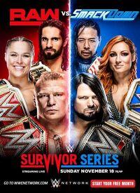 Survivor Series 2018 poster