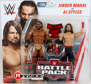 WWE Battle Packs 59 AJ Styles & Jinder Mahal