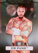 2010 WWE Platinum Trading Cards CM Punk 48