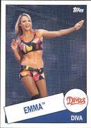 2015 WWE Heritage Wrestling Cards (Topps) Emma 56