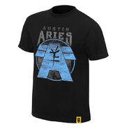 Austin Aries Ambition and Vision Youth Authentic T-Shirt