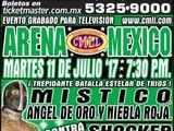 CMLL Martes Arena Mexico (July 11, 2017)
